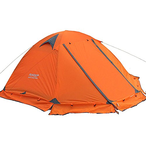 3-4 Season 1-2-person Lightweight Backpacking Tent Double Layer...