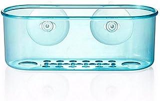 Bluelover Rack Aspiration De Stockage Titulaire Brosse Éponge Stockage Coupe Organisateur Cuisine Gadget Bleu