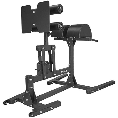 Titan Fitness Glute and Ham Developer (GHD), Cross Training Workout Lifting Equipment
