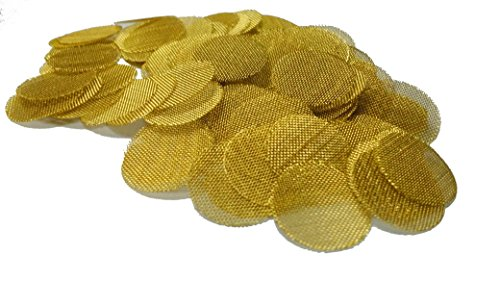Grimm SUPA 50 Brass Screens Pipe Filters - 3/4' (.75) Pipe Screens