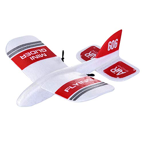 Ktyssp KFPLAN KF606 2.4Ghz 2CH EPP Mini Indoor RC Airplane Glider Built-in Gyro RTF