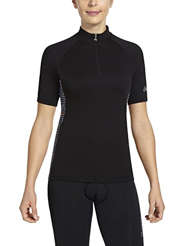 Gonso Damen Bike-Shirt Linda V2, Black, 38
