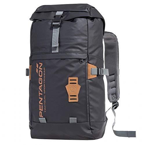 Pentagon Akme Outdoor-Rucksack Stealth-Tasche PU-beschichtetes, 21 Liter