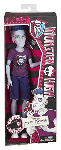 Mattel - BGD87 - Poupée Mannequin - Monster High - Slomo Le Monde Du Sport