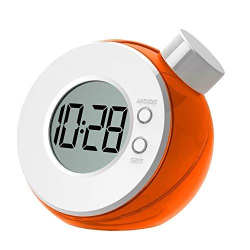Perfectii Wasseruhr, Tischuhr Wasser Power Time Clock für Home Office Schule Geschenk Dekor (zufällige Farbe)