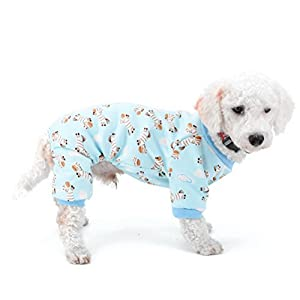 Zunea Puppy Intérieur tenues en polaire doublée Zebra Petit Chien Hiver Pyjama Doggie Robe Yorkshire Teckel Chihuahua Vêtements tenues Vêtements