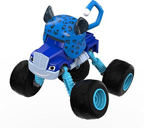 """Blaze and the Monster Machines Spielzeugauto schummelnder Crusher aus """"Blaze und die Monster-Maschinen"""", Traktor, wandelbar (DYP43)"""