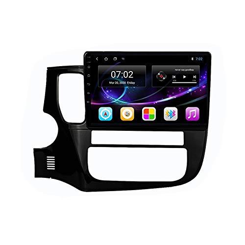 2 DIN Car Stereo 10 Pulgadas HD Pantalla Táctil Soporte Llamadas Manos Libres/BT/GPS/Cámara De Visión Trasera/1080P, para Mitsubishi Outlander 2013-2018 Radio De Coche,Octa Core,4G WiFi 4+64