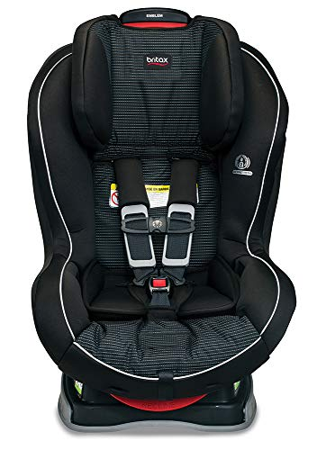 Britax Emblem 3 Stage Convertible Car Seat - 5 to 65 Pounds - Rear & Forward Facing - 2 Layer Impact Protection, Dash