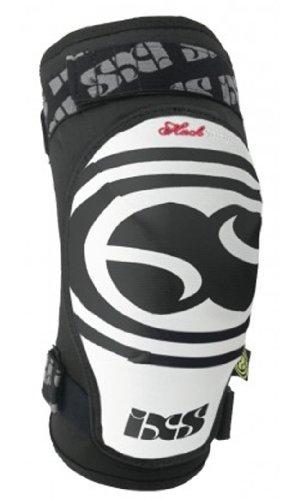 iXS Sports Division - Pad Hack-Series Softy, Tutore per ginocchio, Bianco, L