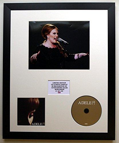 ADELE/Darstellung mit Foto und CD | Limited Edition des Albums 19