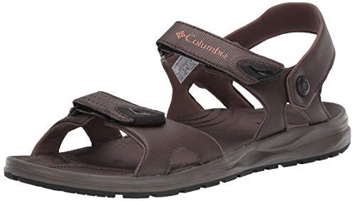 Columbia Men's WAYFINDER 2 Strap Sport Sandal, cordovan, bright copper, 9 Regular US