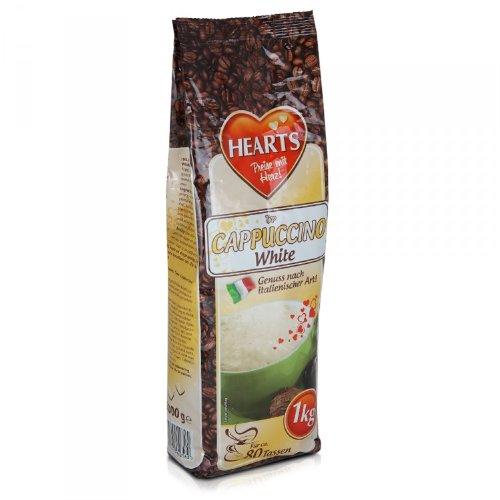 HEARTS Cappuccino White 10 x 1 kg - Genuss nach italienischer Art