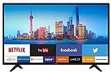 Typ: Smart LED-Fernseher mit 80 cm (31, 5 Zoll) Bildschirmdiagonale Auflösung: HD-Ready 1.366 x 768 Pixel Empfang: DVB-T2 (Terrestrisch), DVB-C (Kabel), DVB-S2 (Satellit), CI+ Kein externer Receiver erforderlich! Smart TV: integriertes WLAN, USB-Medi...