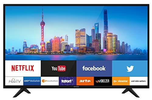 DYON Smart 32 Pro 80 cm (32 Zoll) Fernseher (HD Smart TV, HD Triple Tuner (DVB-C/-S2/-T2), Netflix & HbbTV)