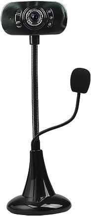 Webcam Full HD 1080P, fotocamera Skype per PC, webcam con microfono, videochiamata e registrazione per computer desktop desktop, videocamera USB Plug and Play per trasmissione video YouTube,darkgreen - Trova i prezzi più bassi