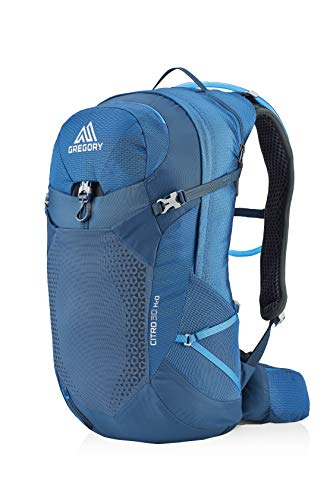 Gregory Mountain Products Men's Citro 24 H2O Hydration Backpack,TWILIGHT BLUE