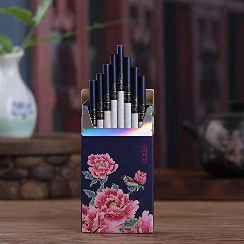 Peony Tea Cigarette Fine Tea Herbal Cigarettes Women Men Healthy Cigarettes No Nicotine & Tobacco 1 Pack (1 pack)