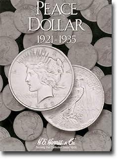 Harris Coin Folder - Peace Type Dollar Folder 1921-1935 #8HRS2709