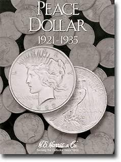 peace dollar folder