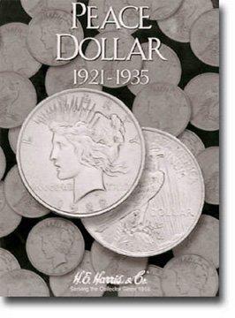 Harris Coin Folder – Peace Type Dollar Folder 1921-1935...