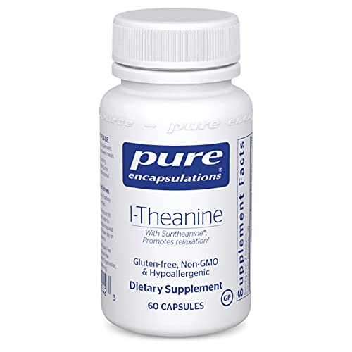 Pure Encapsulations L-Theanine   Amino Acid Supplement for Relaxation...