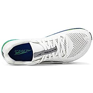 ALTRA Women's Escalante Racer Running Shoe, White/Green - 8.5 M US