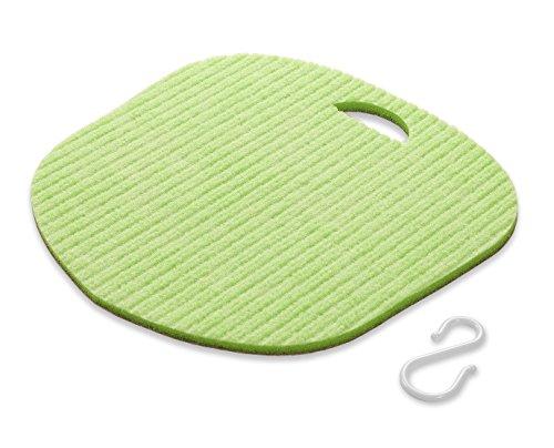 サンコー(三つ葉)ボディブラシグリーン30×30×1cmフットケアびっくりフレッシュBH-45