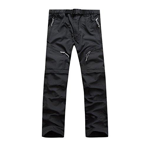 NPRADLA Pantalons à SéChage Rapide pour Hommes Pants ImperméAble Mince Et DéTachable Confortable Mens Petits Pieds Coupe Slim Sport 2019