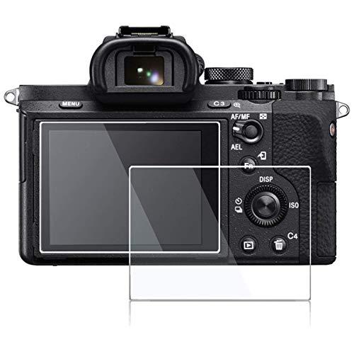 ACUTAS® Tempered Glass Screen Protector for Sony Alpha a7RIII A7R3 A9 A7II A7RII A7SII A77II A99II a7R Mark III 3 a7III Cyber-Shot DSC-RX100 / RX100V VI II III IV RX10 Mark 3/4 Digital Camera
