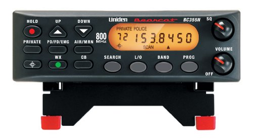 Uniden BC355N 800 MHz 300-Channel Base/Mobile Scanner