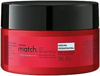 O Boticario Match Reconstruction SOS Hair Mask, 250 ml