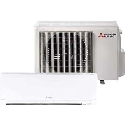 Mitsubishi 12,000 Btu 23.1 Seer Single Zone Ductless Mini Split Heat Pump System (AC and Heat)