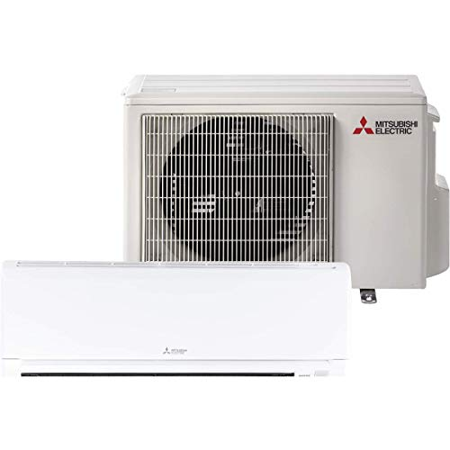 Mitsubishi 24,000 Btu 20.5 Seer Single Zone Ductless Mini Split Heat Pump System (AC and Heat)