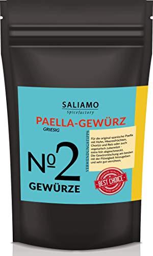 Paella-Gewürz, Paella Pfanne, Gewürzmischung, Paella Reispfanne, Paella Kräutermischung, Für Traditionelle Paella | Saliamo (250g)