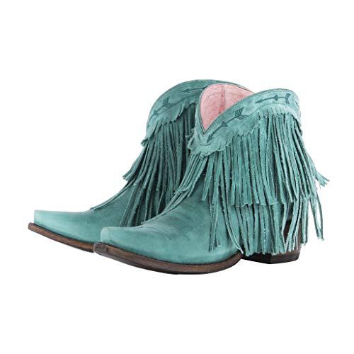 [Lane] レディース迷惑Gypsy byターコイズSpitfire Boot Snip Toe–jg0007d US サイズ: 10 カラー: ブルー