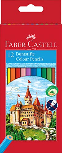 Lapices Colores 12 Marca Faber-Castell