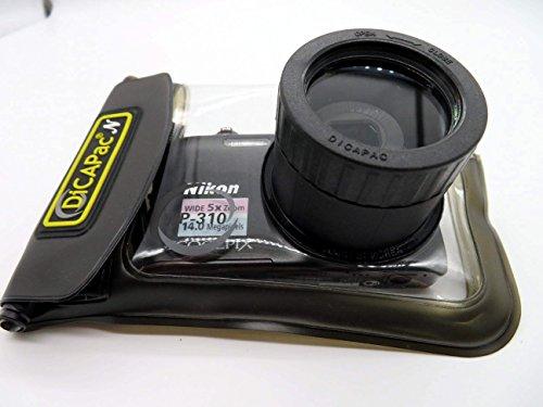 Sony Cybershot DSC WX 220 / DSC WX 300 / DSC WX350 - wasserdichte Kamerahülle von DiCAPAc - wasserdicht bis 10m IPX8