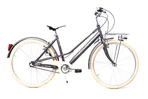 Sprick 26 Zoll Damen Sport Fahrrad Bike 3 Gang Shimano Nexus Rücktritt Graphit matt
