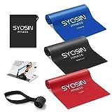 SYOSIN Bandas Elasticas Fitness 3 Piezas Bandas de Ejercicio