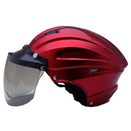 ネオライダース (NEO-RIDERS) MAX-3 ハーフヘルメット ビッグサイズ 61-62cm未満 SG/PSC MAX-3 (キャンディレッド)