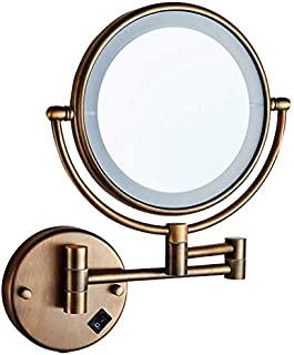 Vanity Mirror Lights Double Sided Vanity Mirror Wall-Mounted Light for Table Bedroom Makeup Application oO
