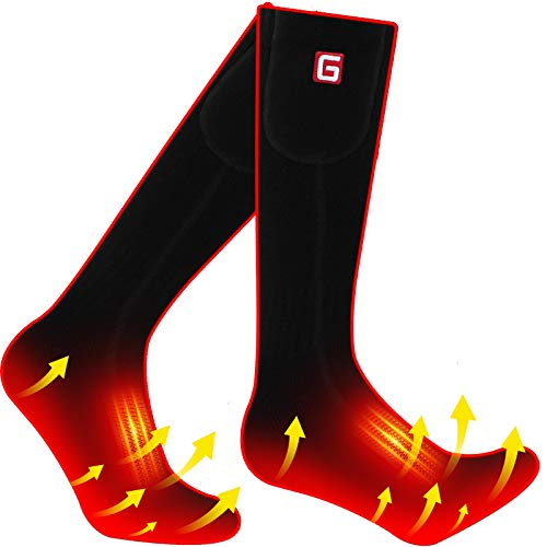 Heated Electric Socks for Women Men Rechargeable Battery Operated Socks Kit Gifts for Thanksgiving Christmas Winter Thermal Heated Camping Skiing Socks Gear