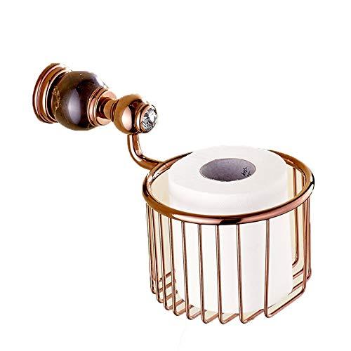 Yinglihua keuken bewakers badkamer muur Europese retro brons kristal rollen van wc zeep mand cosmetica opslag rek accessoires badkamer rack