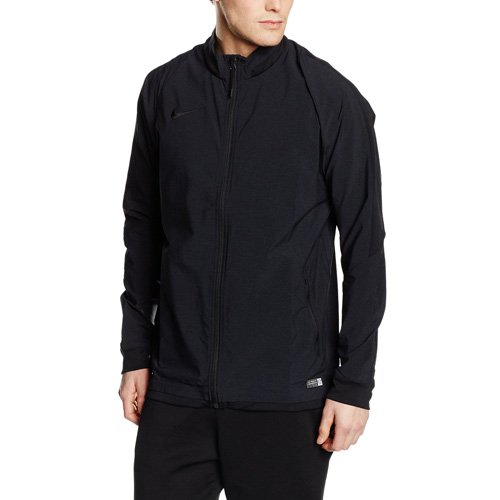 NIKE Jacke Reversible Sideline Stretch Woven Chaqueta, Hombre, Negro-Heather/Black, Small