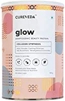 Cureveda Glow Plant Based Collagen Veg and Natural Beauty Collagen Protein Powder for Men and Women – Pearl powder,...