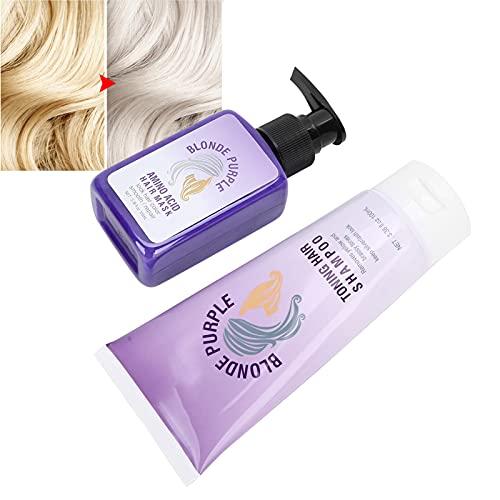 Champú, Champú Color Lock Champú Purple Color Lock para cabello corto para cabello largo