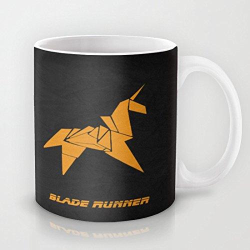 koienOU–Blade Runner–Carcasa Taza/Personalizar Taza 11oz 3.8in H x3.2in W