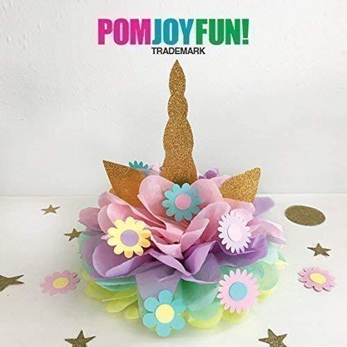 Unicorn Party Decoration, Unicorn Horn, Unicorn Birthday Decoration, Unicorn Centerpiece, Unicorn Birthday Party Decoration, Unicorn Pom