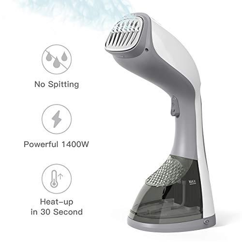 Heizlüfter Energiesparend dodocool Ventilator-Heizlüfter Mit PTC-Keramik Schnellheitzer Oszillationsfunktion 2 Stufe Warm & Natürlich Ideal für vier Jahreszeiten